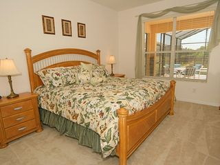 First romantic master bedroom - Emerald Island house vacation rental photo