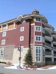 Traverse City condo photo - Our condo is on the top floor w/circle window