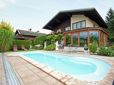 A pleasant holiday home with a swimming pool in a quiet area in Altenmarkt.