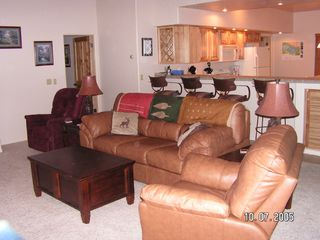 Pinetop condo photo - Family Room with Games inside Coffee Table