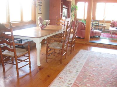 Franconia house rental - Dining / Living area