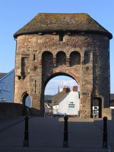13th Century Monnow Bridge, Monmouth