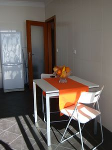 Canico apartment rental - Sunny kitchen table