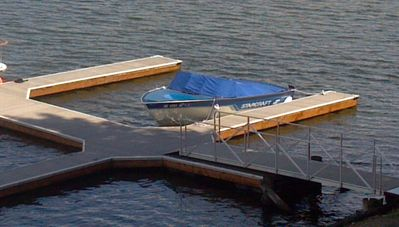 Boat slip comes with the condo