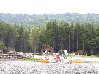 Snowshoe Mountain condo photo - Waterfront Beach area. Paddle boats. canoes. rafts.
