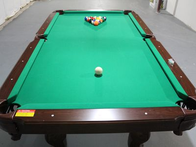 Bushkill house rental - Pool Table