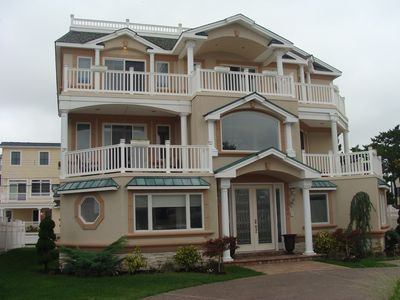 Brigantine house rental - Luxury Beach Mansion with Pool and Rooftop Deck. (304 South 20th Street)