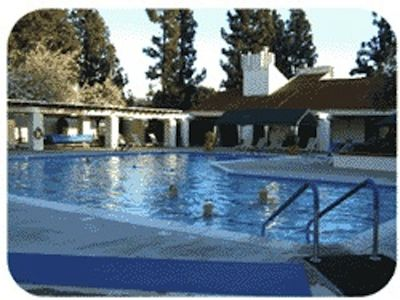 Oaks North Community Center offers a heated swimming pool and spa, ...