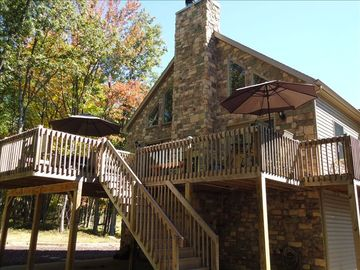 Hazleton house rental - 4 seasons chalet. Amenities include golf, ski, lakes, pools, spa and more