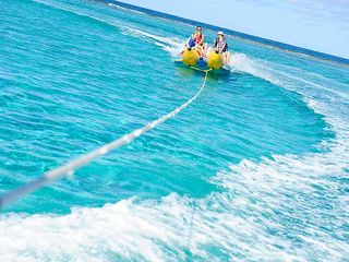 Grand Cayman condo photo - Banana Rides. Yippee!