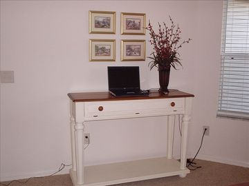 Desk in Den