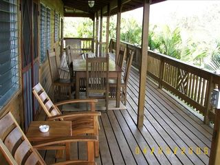 Roatan house photo - 360 degree deck with incredible views