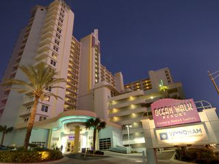 Daytona Beach condo photo - Wyndham Ocean Walk - Night View