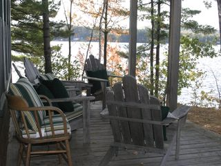 Acton lodge photo - Watch the sunset from this roomy porch.