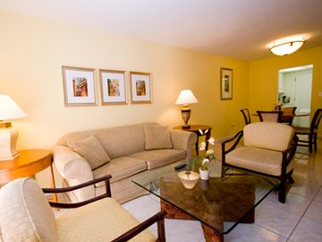 Key Biscayne apartment rental - Living room