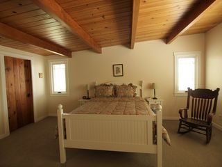 Pacific Grove house photo - Newly carpeted master bedroom.