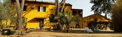 Sunny villa with panoramic views, idyllic and close to the beach