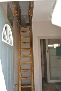 Stairs to upper loft