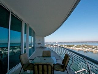 Orange Beach condo photo - huge balcony