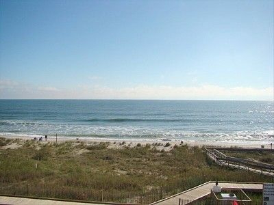 Kure Beach townhome rental - The view from the porch is amazing!