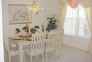 Elegantly Furnished Dining Area