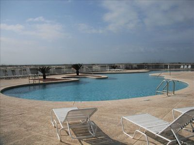 Large Outdoor Pool located next to Unit.