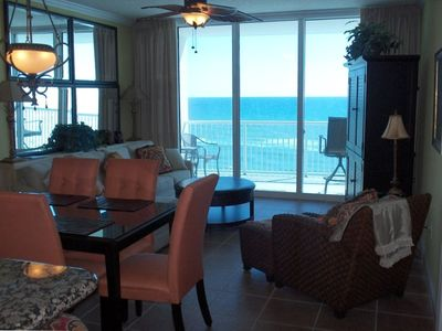 Living Room - Opens to beach front balcony