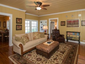Foley house rental - The Living Room is comfortable and functional!