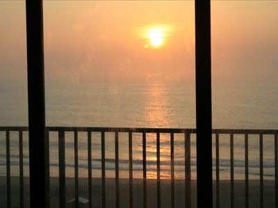 Sunrise....from your unit. View from living room, master, dining room, kitchen