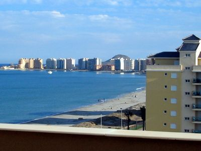 Luxury, double BEACH FRONT penthouse with stunning view to the sea