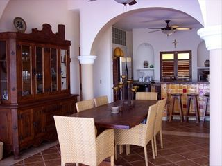 Sayulita villa photo - Dining Room/Kitchen