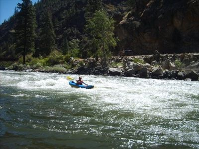 WHITEWATER RAFTING OR KAYAKING ON THE NEARBY SALMON RIVER