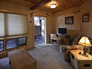 Estes Park condo photo - Living room with flat screen TV