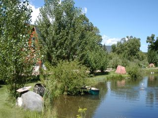 Carbondale apartment photo - One of the beaver ponds with canoe