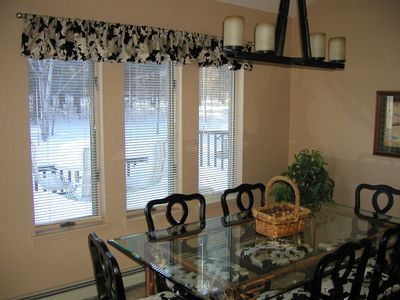 Bellaire / Shanty Creek house rental - Dining Room