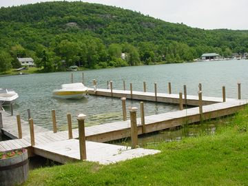 67 feet dock, kayaks, canoe, fishing from the dock, etc.