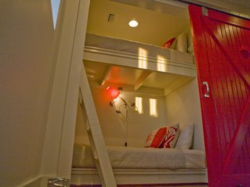 Bunk Nook. Perfect for kids. Children fight over this space :)