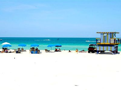 Beautiful & MOST Inviting WORLD Famous Beach in South Beach, ONLY 2 Blocks A