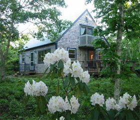Chappaquiddick house photo - Lovely Chappy Cape (BEFORE new porch addition)