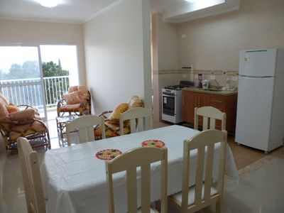 New apartment in Caraguá - 5 minutes walk from the center and one block from the