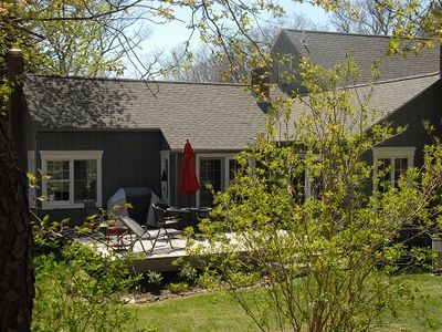 Exclusive Furnished 4 Bedroom 2 Bath Cape Elizabeth Home with Water Views