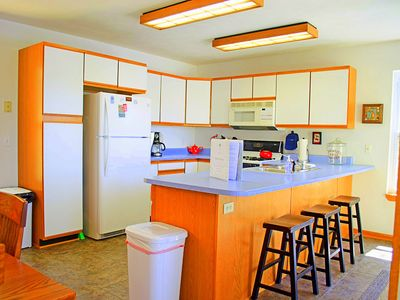 Fully equipped kitchen--dishwasher, coffee maker, blender, crockpot, etc.