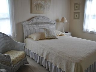 Scarborough and Pine Point house photo - master bedroom with queen size bed
