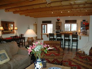 Casa Corazon was designed with comfort in mind. - Taos house vacation rental photo