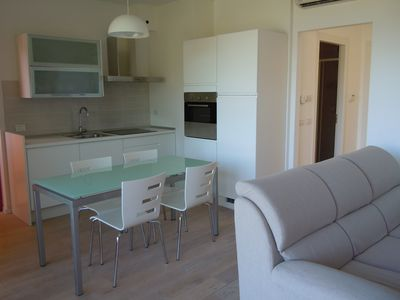 New furnished apartments, to 6 pers., Private garden and great pool