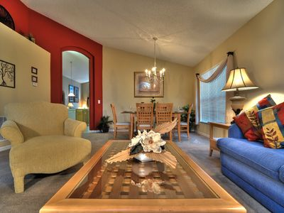 Emerald Island house rental - Relax in the living room and enjoy the comforts of our spacious home