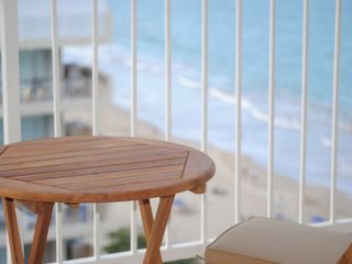Isla Verde apartment photo - A balcony, with the view.