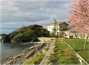 Otter Point Beach House in Spring