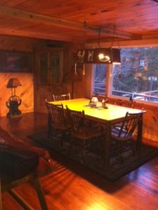 Chazy Lake house rental - Dining Room View