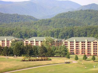Gatlinburg Golf & Country Club borders resort